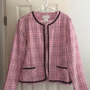 Pink QVC Susan Graver style jacket XL NWT